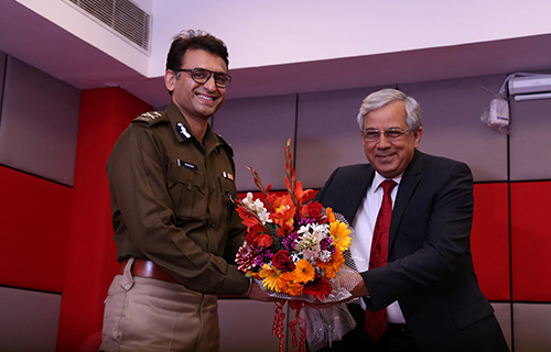 Platform Lecture Series by Commissioner of Police