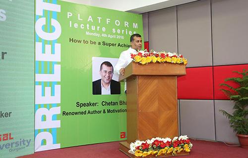 Platform Lecture Series by Mr. Chetan Bhagat