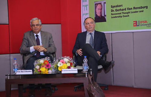 Platform Lecture Series by Renowned Leadership Coa